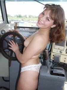voyeur on boat